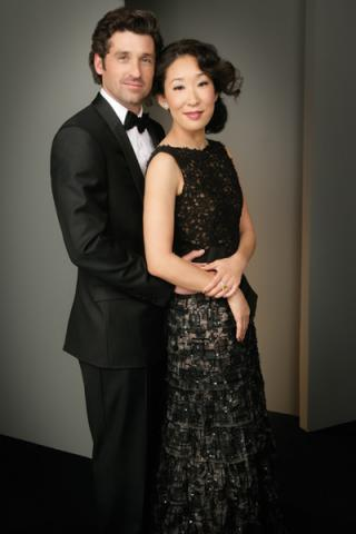 Patrick Dempsey and Sandra Oh