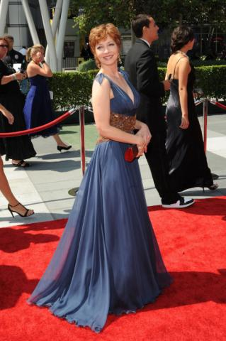Lisa Edelstein at the 62nd Primetime Creative Arts Emmy Awards
