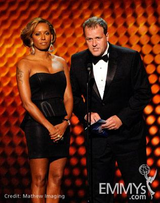 Mel B. and Conrad Green at the 62nd Primetime Creative Arts Emmy Awards