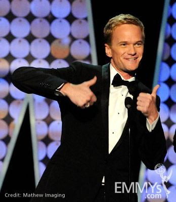 Neil Patrick Harris accepts the Best Special Class Program 'Tony Awards' award