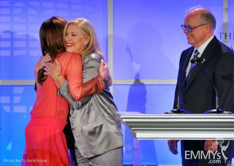 Dana Delany, John Shaffner and Lynn Roth at the 5th Annual Television Academy Honors