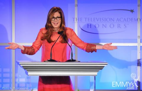 Dana Delany onstage at the 5th Annual Television Academy Honors