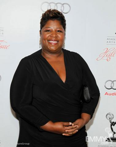 Cleo King arrives at the 21st Annual Hall of Fame Gala
