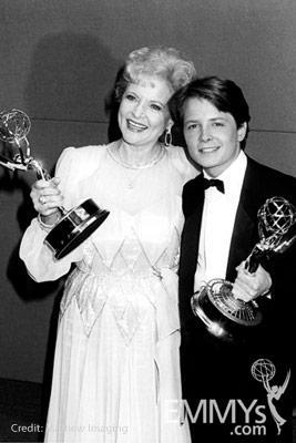 Classic Emmys - Betty White & Michael J. Fox