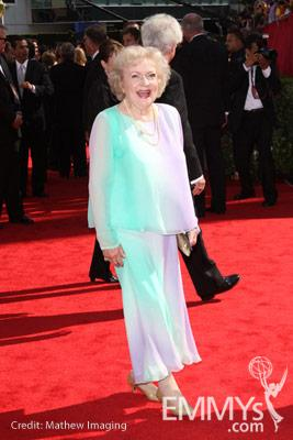 Betty White at the 62nd Primetime Emmy Awards