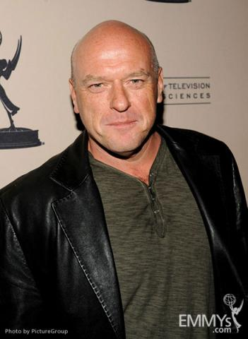 Dean Norris arrives at an Evening with Breaking Bad