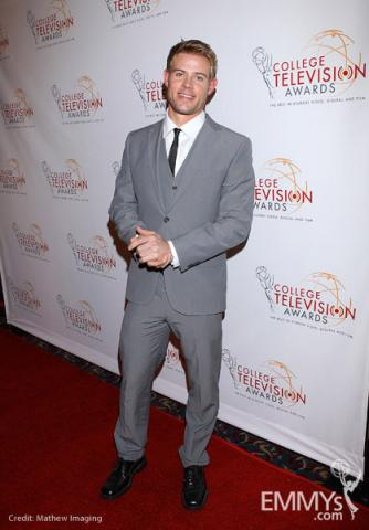 Trevor Donovan at the 32nd College Television Awards