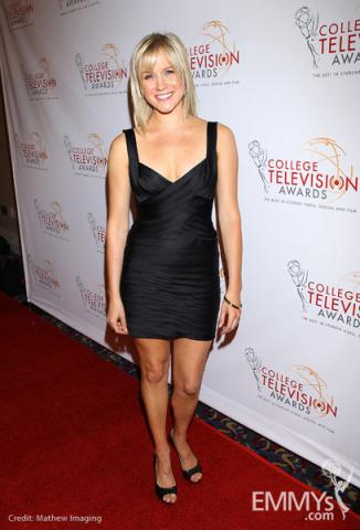 Jessy Schram at the 32nd College Television Awards