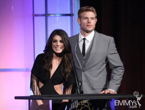 Shenae Grimes & Trevor Donovan at the 32nd College Television Awards