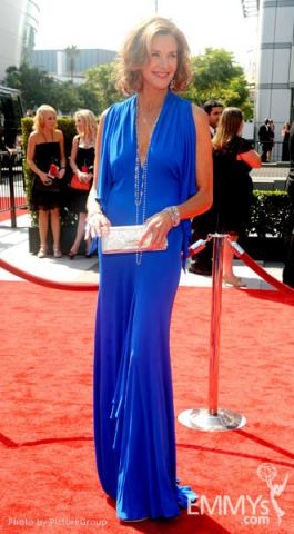 Brenda Strong attends the Academy of Television Arts and Sciences 2011 Primetime Creative Arts Emmys