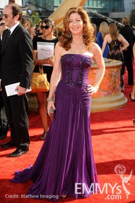 Dana Delany arrives at the 61st Primetime Emmy® Awards