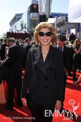 Christine Baranski at the 62nd Primetime Emmy Awards