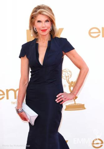 Christine Baranski arrives at the Academy of Television Arts & Sciences 63rd Primetime Emmy Awards at Nokia Theatre L.A. Live