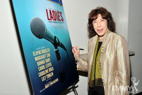Lily Tomlin at Ladies Who Make Us Laugh