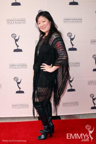 Margaret Cho arrives at Ladies Who Make Us Laugh