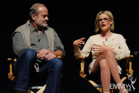 Kelsey Grammer and Kathleen Robertson at An Evening With Boss