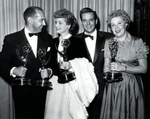 Classic Emmys—Harry Ackerman, Lucille Ball, Desi Arnaz, Vivian Vance