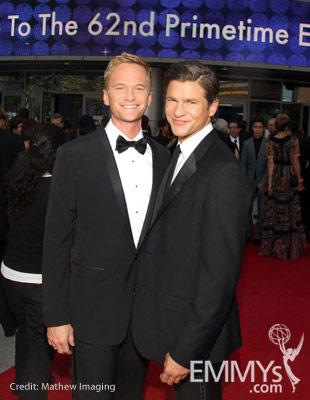 Neil Patrick Harris and David Burtka at the 62nd Primetime Creative Arts Emmy Awards
