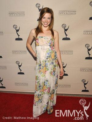 Molly Burnett at the 45 Years Of Days Of Our Lives event