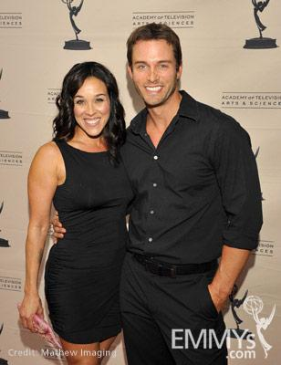 Lisa Kouchak & Eric Martsolf at the 45 Years Of Days Of Our Lives event