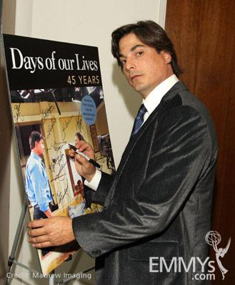 Bryan Dattilo at the 45 Years Of Days Of Our Lives event