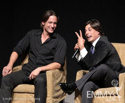 Jay Kenneth Johnson & Bryan Dattilo at the 45 Years Of Days Of Our Lives event