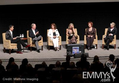 Jon Jordan, Ken Corday, Suzanne Rogers, Melissa Reeves, Maree Cheatham & Mary Beth Evans at 45 Years Of Days Of Our Lives