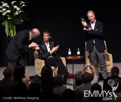John Shaffner, Jon Jordan & Ken Corday at the 45 Years Of Days Of Our Lives event