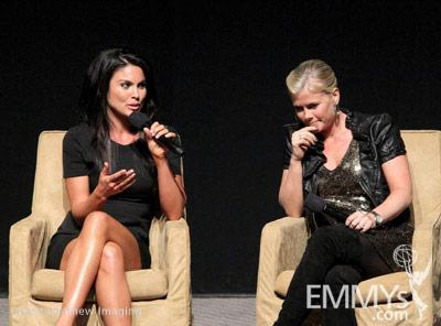 Nadia Bjorlin and Alison Sweeney at the 45 Years Of Days Of Our Lives event