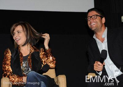 Lauren Koslow & James Scott at the 45 Years Of Days Of Our Lives event