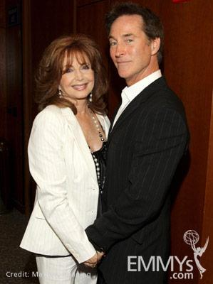 Suzanne Rogers & Drake Hogestyn at the 45 Years Of Days Of Our Lives event