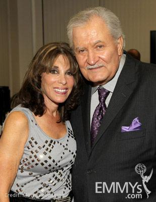 Kate Linder & John Aniston at the 45 Years Of Days Of Our Lives event