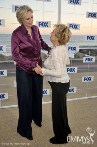Jane Lynch, Cloris Leachman
