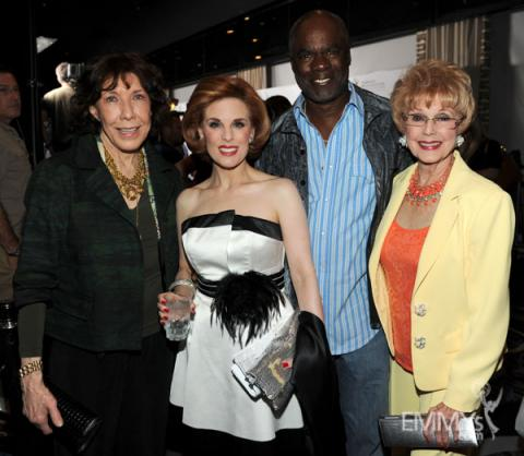 Lily Tomlin, Kat Kramer, Glynn Turman and Karen Sharpe at the 2013 Performers Emmy Celebration