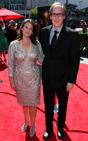 Jeff Beal and Joan Beal on the Red Carpet at the 65th Creative Arts Emmys