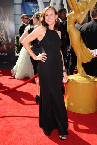 Molly Shannon on the Red Carpet at the 65th Creative Arts Emmys
