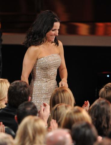 Julia Louis-Dreyfus wins for Outstanding Lead Actress in a Comedy Series
