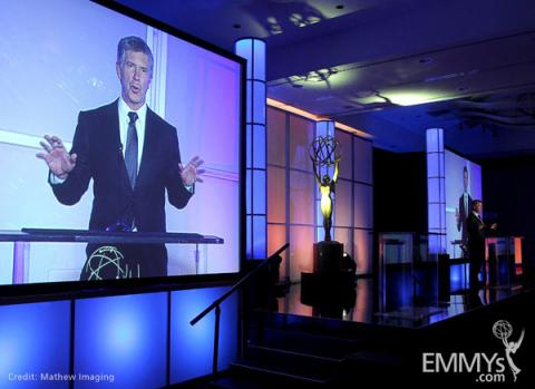 Tom Bergeron at the 31st College Television Awards