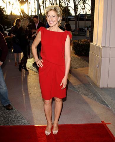 Actress Edie Falco