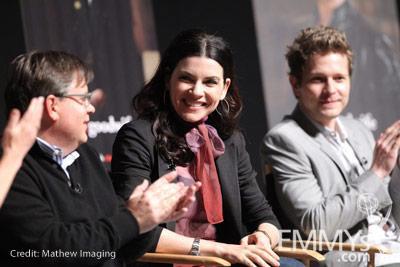 Robert King, Julianna Margulies and Matt Czuchry at An Evening With The Good Wife