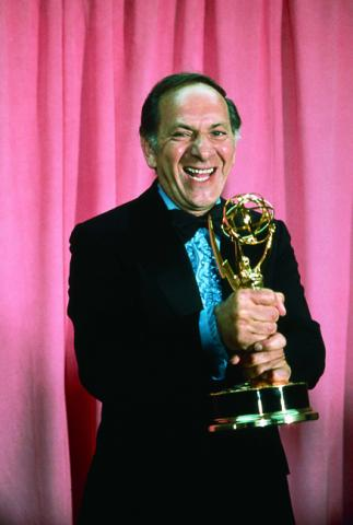 Jack Klugman with his Emmy in 1973.