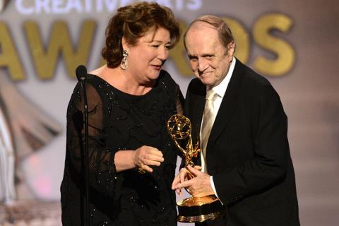 Bob Newhart and Margo Martindale