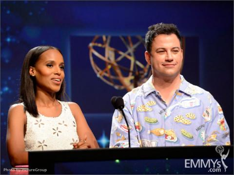 Kerry Washington and Jimmy Kimmel announce the 64th Primetime Emmy Awards Nominations