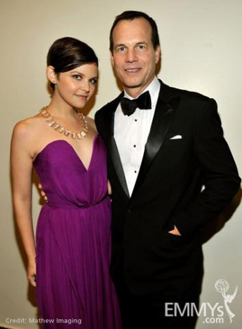 Actors Ginnifer Goodwin and Bill Paxton