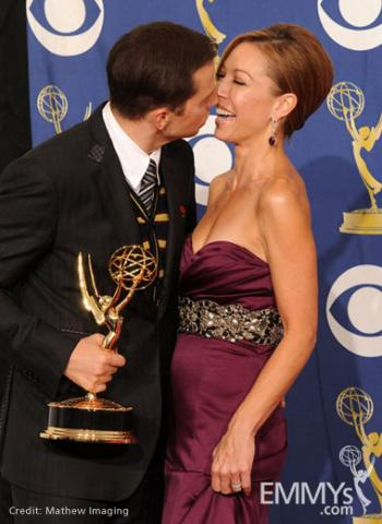 Actor Jon Cryer and Lisa Joyner