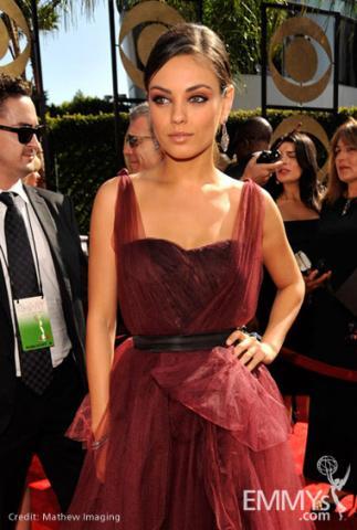 Mila Kunis at the 61st Primetime Emmy Awards