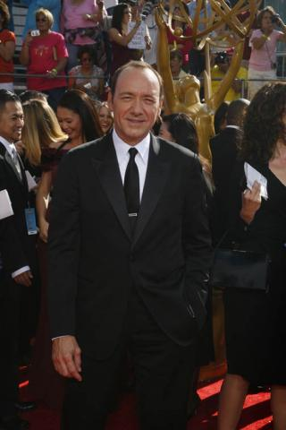Recount star Kevin Spacey at the 60th Primetime Emmy Awards