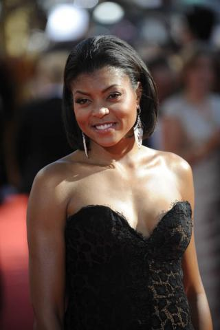 Boston Legal co-star Taraji P. Henson at the 60th Primetime Emmy Awards