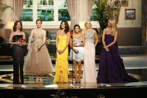 Desperate Housewives co-stars Dana Delany, Marcia Cross, Teri Hatcher, Eva Longoria Parker, Felicity Huffman and Nicollette