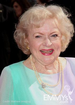 Actress Betty White